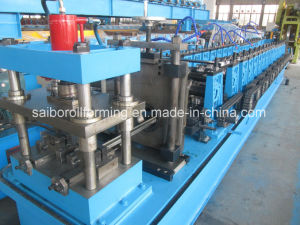 Double Rows Guide Rail Roll Forming Machine pictures & photos
