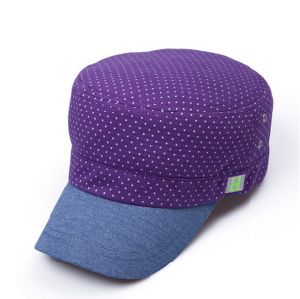 Women′s Wave Point Flat Top Cap pictures & photos