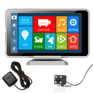Popularandroid System 5 Inch Rearview Mirror Car DVR with WiFi/Bluetooth pictures & photos