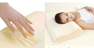 Bamboo Fabric Memory Foam Wave Soft Pillow pictures & photos