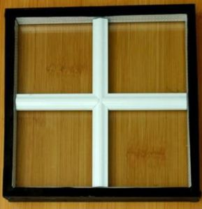 Double Glazed Internal Decorative Crossbar Glass for Window pictures & photos