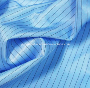 Polyester Anti-Static Fabric (ESD fabric=Electronic static discharge fabric) pictures & photos