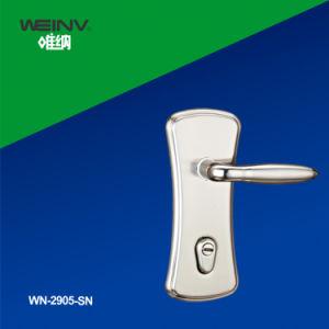 Zincalloy Mortise Lock Door Handle pictures & photos