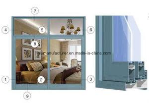 Zj-808 Series Sash Aluminium Alloy Extrusion Profile for Door and Window pictures & photos