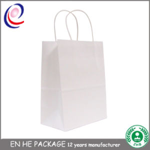 British & French Style Gift Paper Bags with Handle pictures & photos