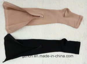 Medical Compression Stocking with Zipper pictures & photos