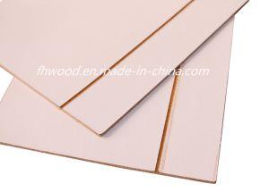 3mm Paper Overlaid Decorative Hardboard Wtih Golden Grooves