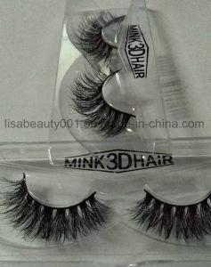 3D Multi-Layer Mink Fur Eyelashes Soft Comfortable False Eyelashes Double Curly Lashes pictures & photos