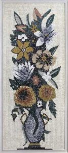 Flower Wall Pattern and Shearing Stone Mosaic pictures & photos