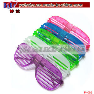 Party Supplies LED Shutter Style Glasses Plastic Sunglasses (P4069) pictures & photos