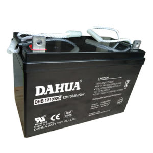 Hot Sale 12V 100ah Gel Solar Battery for Solar Systems pictures & photos