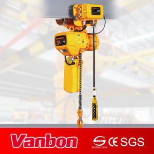 3ton Electric Chain Hoist with Motoried Trolley pictures & photos