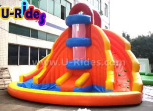 3.5m high Double Water Slide pictures & photos