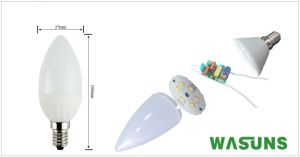 Candle Light 3W E14 Good Quality and Price LED Bulb pictures & photos