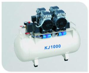Oil Free Oilless Silent Dental Air Compressor (KJ-1000) pictures & photos