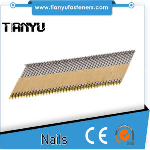 34 Degree 75mm Bright Strip Nails pictures & photos