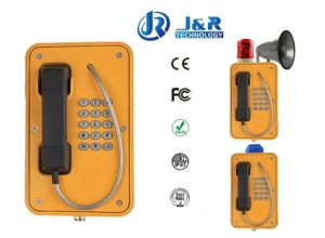 Industrial Wireless Phone, Weatherproof SIP Intercom, Rugged Tunnel Telephone pictures & photos