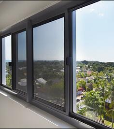 Aluminum Exterior Low E Glass Sliding Door pictures & photos
