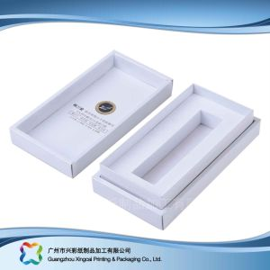 Simple Cheap Folding Flat Paper Packaging Box for Cosmetic (XC-3-009) pictures & photos