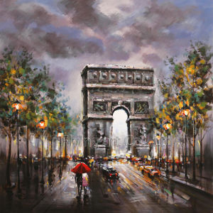 Reproduction Oil Painting for Street Corner pictures & photos
