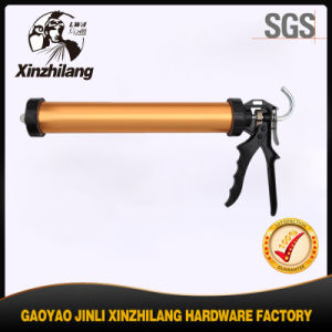 Competitive Than Power Tool Manaul Sausage Caulking Gun (Gold) pictures & photos