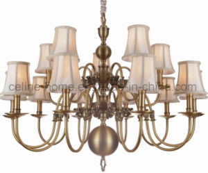 Copper Chandelier with Brass Finish (SL2078-10+5) pictures & photos