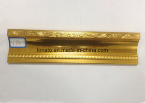 Fashion Hot Stamping Foil High Quality PVC Moulding Cornice pictures & photos