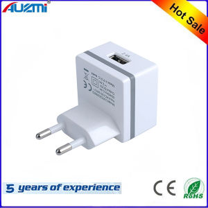 EU Single Port USB Travel Charger for Mobile Phone