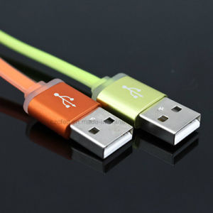 Colorful Charger&Transfer Data Flat for iPhone USB Cable pictures & photos