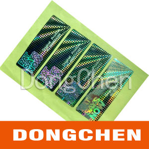 2 Layers Anti-Counterfeiting Holographic Sticker pictures & photos