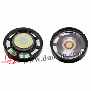 27mm 8ohm 0.25W Plastic Mylar Speaker for Outdoor Audio System, GPS pictures & photos