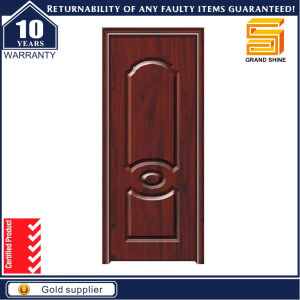 Eco-Friendly Waterproof PVC Interior Panel Door for Bedroom Bathroom pictures & photos