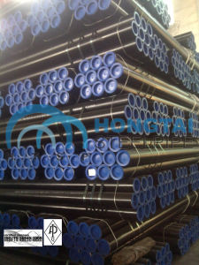 with API Monogram Certificate License Hot Rolled API 5L Gr B Seamless Steel Pipe pictures & photos