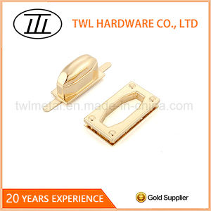 Big Handle Rectangle Alloy Turn Lock Twist Lock for Bags pictures & photos
