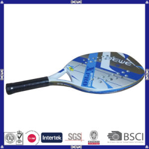 Chinese Professional Supplier Cheap Carbon Beach Tennis Racket pictures & photos