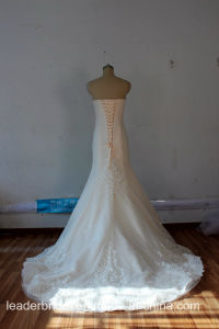 Stock Bridal Gowns Beaded Mermaid Real Wedding Dresses Lb17101 pictures & photos