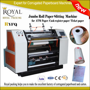 Thermal Paper /ATM Paper Slitting and Rewinding Machine Roll to Roll pictures & photos