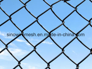 PVC Coated & Hot DIP Galvanized Welded Wire Mesh Chain Link Fence for Playground pictures & photos