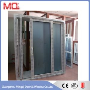 Plastic Sliding Door with Mosquito Net pictures & photos