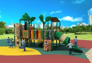 2017 New High-Quality Outdoor Playground Equipment Slide (HD17-005A) pictures & photos