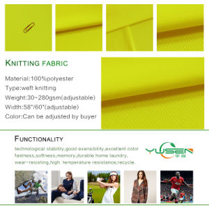 Stretch Pongee Fabric DOT Jersey Fabric pictures & photos