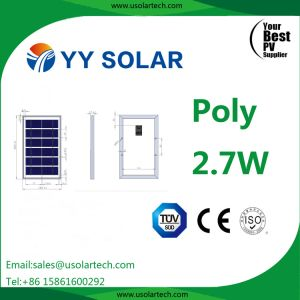 High Quality 2.7W-3W Polycrystalline Solar Module pictures & photos