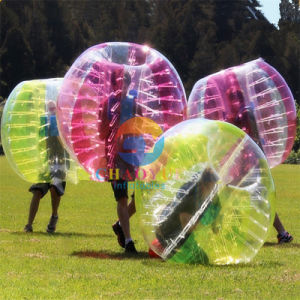 Knocker Body Zorb Bumper Bubble Ball for Soccer Field pictures & photos