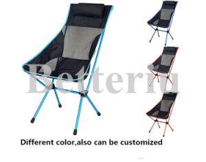 Reclining Camping Chair with Neck Rest High Bach Chair pictures & photos