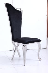 Cross Legs Dining Chairs with Fabric Cover for Wholesales pictures & photos