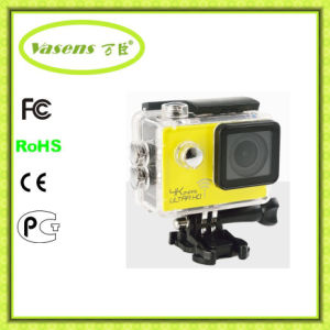 2016 New Sport Camera, HD1080p WiFi Sport Cam Waterproof Ultra-Thin Camcorder pictures & photos