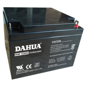 Hot Sale 12V 26ah Deep Cycle Solar Battery for Solar Systems pictures & photos