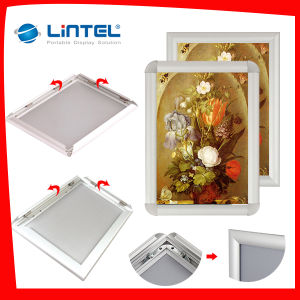 Mitred Corner 25mm Aluminum Snap Frame pictures & photos