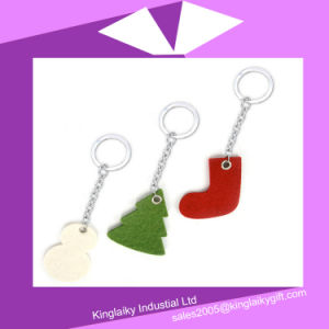 Christmas Key Tag in Felt Made material for Souvenir P016A-013 pictures & photos