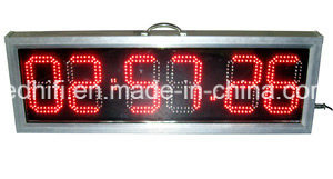 Outdoor High Brightness Clock /Time /Date /Temperature LED Display Sign for Advertisement LED Panel 5′′ 6′′ 8′′ 10′′ 12′′ pictures & photos